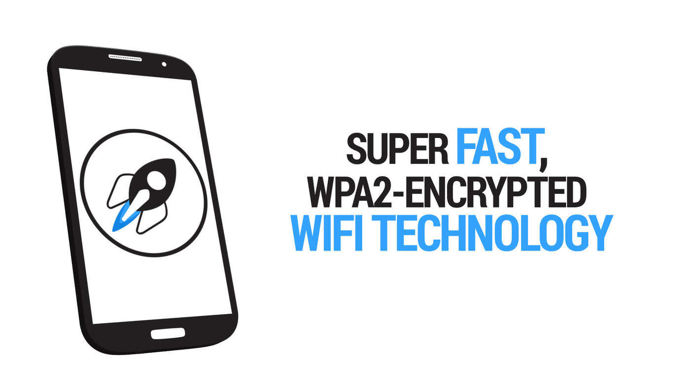 SHOUTR App Be independent CeBit Innovation Award 2014 Fast WPA2-Encrypt